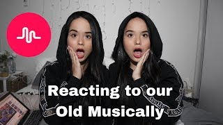 Reacting to our old Musically
