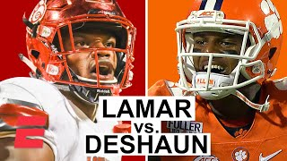 Lamar Jackson vs. Deshaun Watson in 2016 Louisville-Clemson showdown   College Football Mixtape