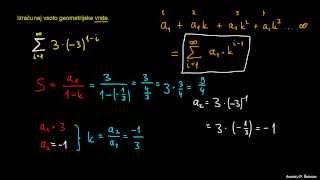 Vsota geometrijske vrste 2