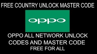 Oppo A3s without downgrade networt unlock easy mathod - SM Solution