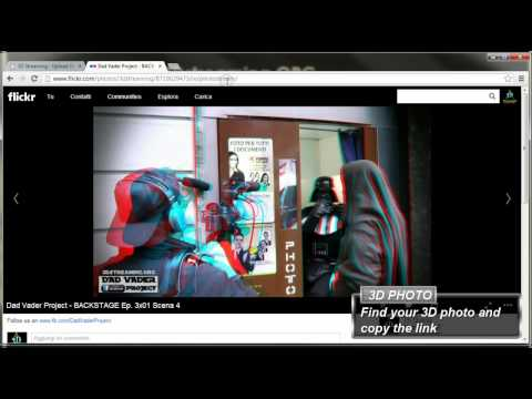 How to add your 3D Flickr's Photos to 3Dstreaming.ORG