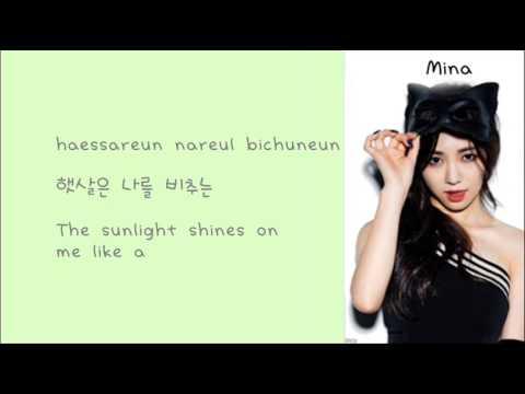 AOA - Like a cat Lyrics Han+Rom+Eng