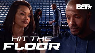 London (Teyana Taylor) Back with Derek?! | Hit The Floor