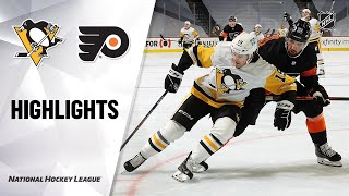 Penguins @ Flyers 1/15/21 | NHL Highlights