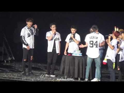 161127 EXO'rDIUM in Taipei  Celebrate Chanyeol birthday