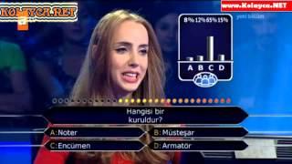 Kim Milyoner Olmak Ister 263. bölüm Melisa Akman 23.09.2013
