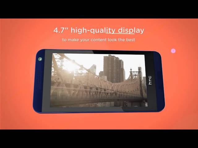 Belsimpel.nl-productvideo voor de HTC Desire 610 Blue
