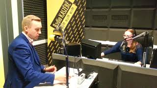 Wywiad z Burmistrzem Władysławowa - Romanem Kużel w porannej audycji Dzień Dobry Kaszuby na antenie R
