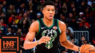 Milwaukee Bucks vs Atlanta Hawks Full Game Highlights | 01/13/2019 NBA Season