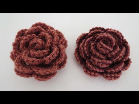 Blume Häkeln 8 Blätter 3d Blume Teil 1 Von 2 Videomovilescom