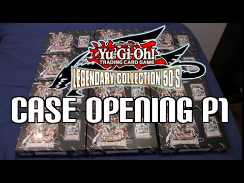 Yugioh Legendary Collection 5D's Case Opening Part 1