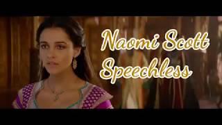 """Naomi Scott - Speechless (Lyrics) From The Movie """"Aladdin"""" 2019"""