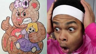 MOST INAPPROPRIATE CHILDREN COLORING BOOK Drawings