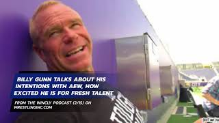 Billy Gunn Discusses His New Role As AEW Producer, Helping With Their TV Show