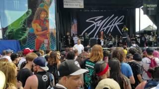 Sylar - full set @ Warped tour, Jones Beach 7-8-17 - video 1
