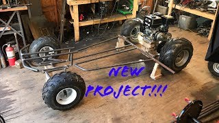 home made two speed off road go kart part 1