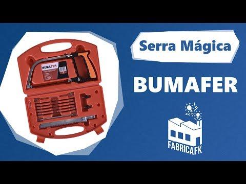 Serra Mágica Saw 9 Em 1 Multifunção Com 9 Lâminas Bumafer - Vídeo explicativo
