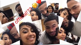Queen Naija & Clearance make their relationship official,& kiss on Camera !