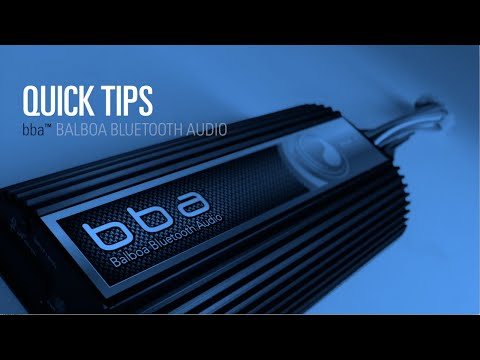 Balboa Bluetooth Audio (bba™) quick tips - Pair iOS Device