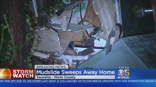 Sausalito Home Swept Away In Mudslide