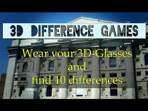 Difference Games in 3D Stereoscopic HD (YT3D) by 3DStreaming