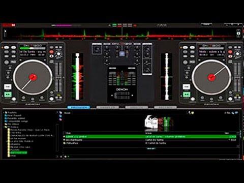 Skin Denon Dn-x120 y Dn-s1200 Virtual dj Home y Pro x32 y x64