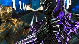 Black Panther vs Killmonger - Fight Scene  - Black Panther (2018) Movie Clip HD