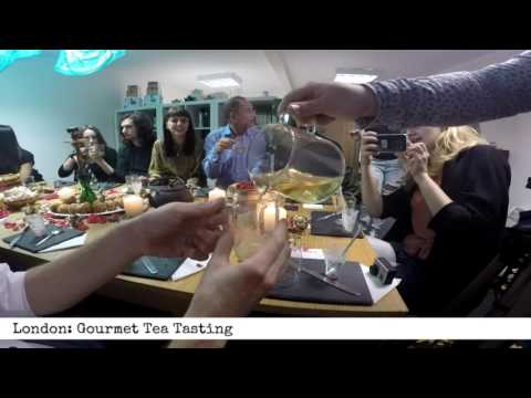 London: Gourmet Tea Tasting (60 second product review)