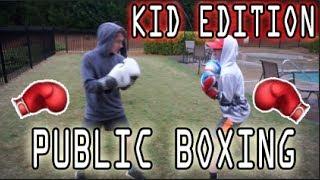 Public Boxing Kids Edition😱🥊 *Crazy*| KID PERFECT