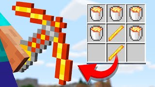We added 100 NEW Crafting Recipes in Minecraft