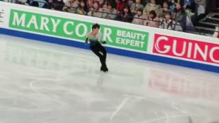 Yuzuru Hanyu in Helsinki World 2017 FS