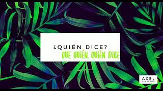 ¿Quién Dice? (Letra) - Marcos Menchaca
