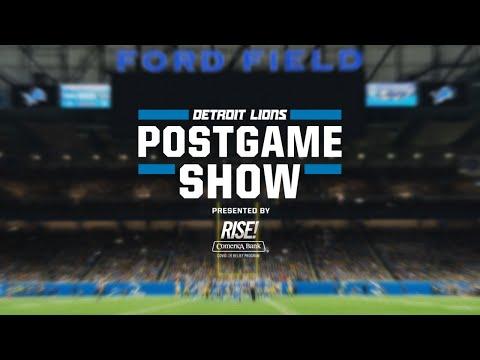 Detroit Lions Postgame Show | Week 16 vs. Tampa Bay Buccaneers