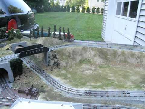 O Gauge 4 X 8 Layout For Maximum Train Action Youtube