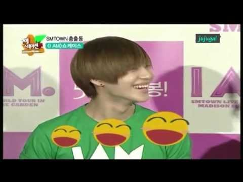 [Eng Sub] 120501 Taemin Can't Hold Laughter @ I AM Showcase Interview