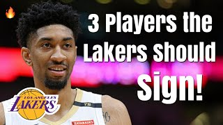 3 Players the Los Angeles Lakers Should Sign With the Disabled Player Exception!   Help For LeBron!
