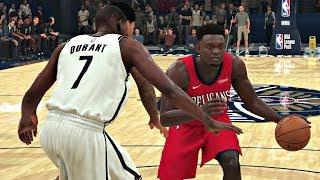 NBA 2K20 Gameplay - Brooklyn Nets vs New Orleans Pelicans – NBA 2K20 PS4