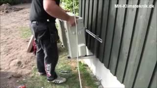 Montering af luft til luft varmepumpe - MH-Klimateknik.dk