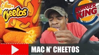 WHAT'S REALLY INSIDE BURGER KING'S MAC N' CHEETOS???
