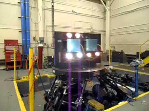 BIRNS Emergency Light Fixture-LED Seismic Testing