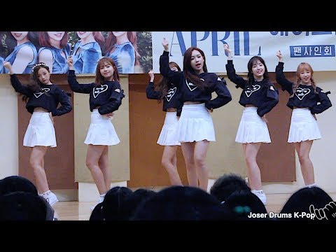 Fancam - APRIL(에이프릴) _ TTING(띵) 171021 Fan Sign Daegu 대구 팬싸인회