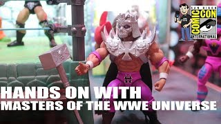 Hands-On Look at Masters of the WWE Universe Figures!