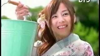 夏川純CM5