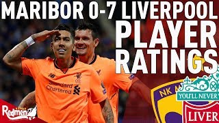 Milner Gets A 10! | Maribor 0-7 Liverpool | Player Ratings