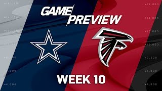 Dallas Cowboys vs. Atlanta Falcons | NFL Week 10 Game Preview | NFL Playbook