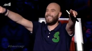 "MICHALIS STAVENTO ""THE VOICE 2"" OI ATAKES TOU MICHALI"