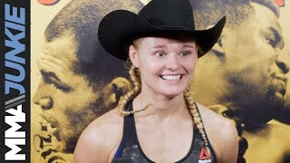 UFC on ESPN 1: Andrea Lee full post fight interview