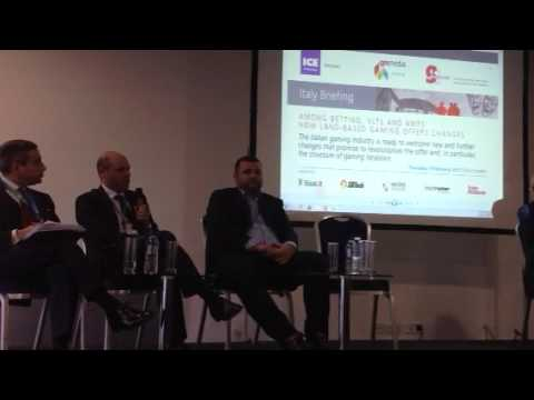Marco Bedendo (Sisal Entertainment) all'Italy Briefing