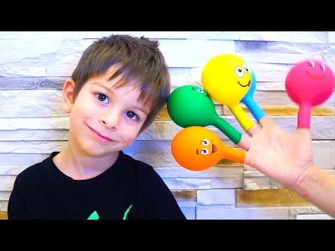 Finger Family Song Compilation - 7 Daddy Finger Best Video Songs by KLS