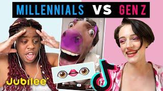 Gen Z vs Millennials React To Viral Tik Toks